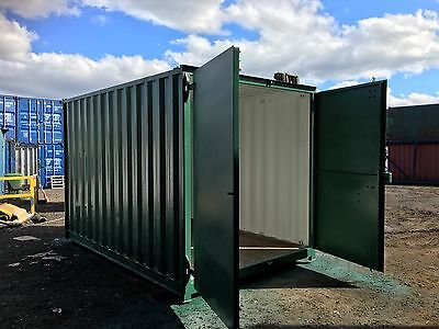 15x8 Ft Secure Container with Optional Anti condensation pain.