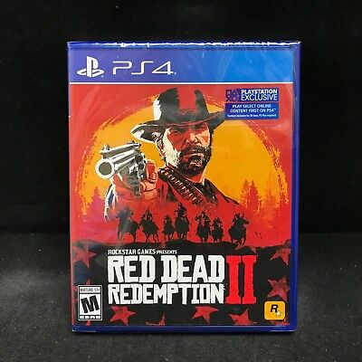 Red Dead Redemption II (2) (PS4) Brand New / Region Free