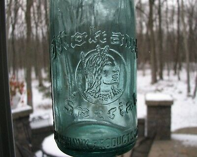 Mohawk Special ~ The Mohawk Products Co. Inc. Beer Bottle Buffalo Ny 1933 - 34