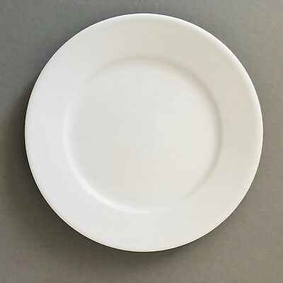 Apilco Tradition White salad plates bread butter Williams Sonoma PER PIECE