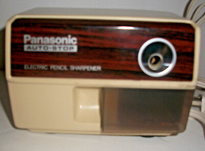 Panasonic electric pencil sharpener kp-110 with auto stop