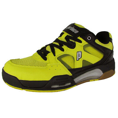 Prince Mens NFS Attack Squash Sneaker Shoes, Yellow/Black, US 7