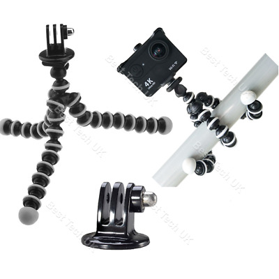 For GoPro HERO HD Action Cam Flexible Tripod Gorilla Octopus Mount Stand Holder