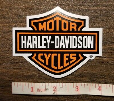 Harley Davidson Men Chroma 5507 Harley-davidson Domed Emblem Decal