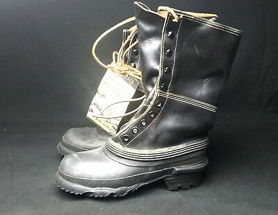 NOS WWII Korean War-era US Army Shoe Pac Boots - Mountain Winter Footwear 1950