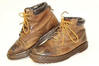 Dr Martens Vintage 90's England Made Mens UK 7 US 8 Distressed Leather Boots ni