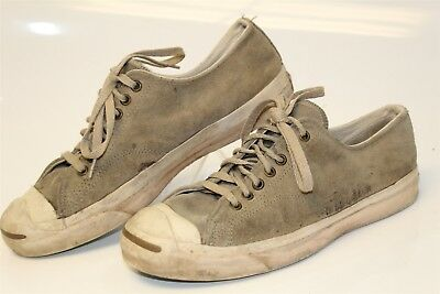 Vintage Converse Jack Purcell USA Made Mens 9.5 RARE Low Tops Sneakers Shoes ni