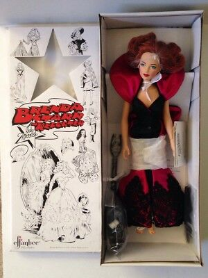 """Effanbee Brenda Starr Reporter Doll Dale Messick """"Stepping Out"""" V2003 NIB"""