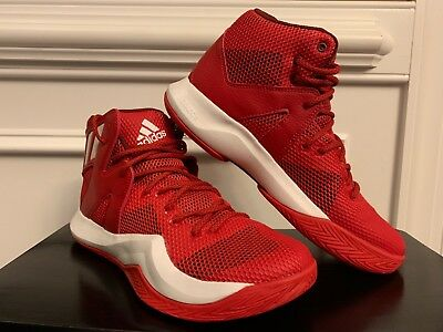 the latest fb7a7 9c0ec  NEW  Adidas Men s Crazy Bounce Basketball Shoe B72768 Red White 8