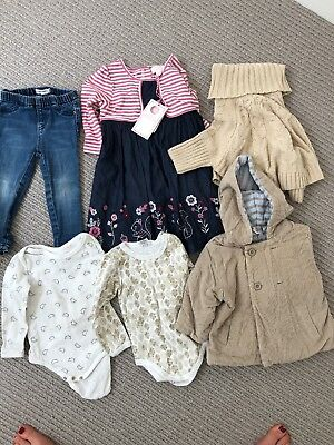 Size 1 (12-24 Months) Bundle - Girls. Country Road, Bebe, Cotton On, Pumpkin