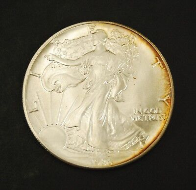 1986 $1 American Eagle Silver Dollar BU - 1 Troy Oz (#2)