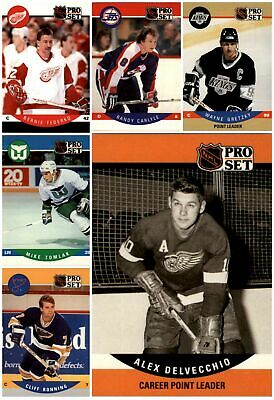 1990-91 Pro Set Hockey ( Cards 1-199) - YOU CHOOSE!