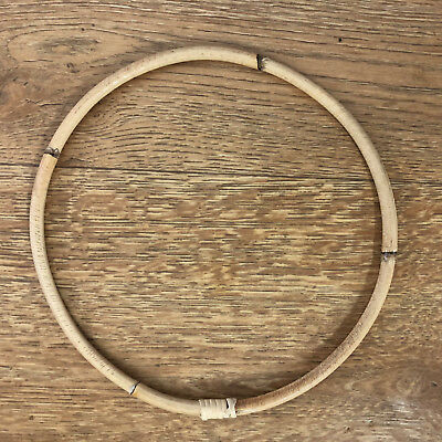 22cm RATTAN HOOP RING DreamCatcherRing/Florist/Macrame/Craft/DIY/WallArt/Wedding