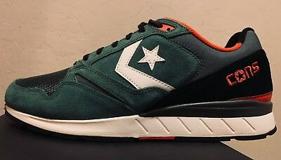 d060ae7118a158 CONVERSE WAVE RACER OX Imperial Green Black Size US 11 Men 150682C ...