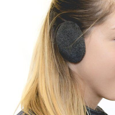 Sprigs Earbags Bandless Ear Warmers/Fleece Earmuffs with Thinsulate - Gray,
