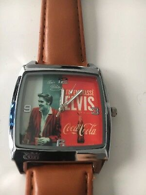 Coca Cola Elvis Armband Uhr Watch