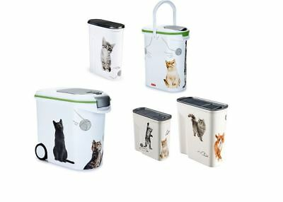Curver Futtertonne Container Futterbehälter Silhouette Katze Hund Hamster