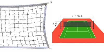 NKTM Outdoor Sports Classic Volleyball Net for Garden Schoolyard Backyard...