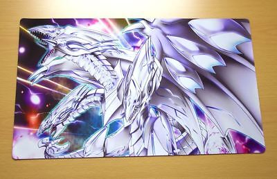 E748 Free Mat Bag Blue Eyes Ultimate Dragon Play Mat Yugioh TCG Playmat