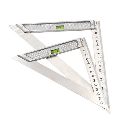 Measuring Tools Stainless Triangle Angle Ruler 90degree Protractor For Carpentry