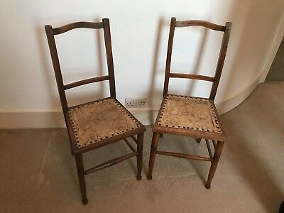 Early 20s Edwardian Chairs