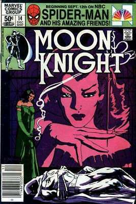 Moon Knight (1980 series) #14 in Very Fine minus condition. Marvel comics
