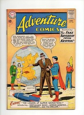 Adventure Comics #309 (1963) 1st App Legion of Super Monsters FN