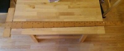 Holbro Wooden Technical Drawing T Square pre owned
