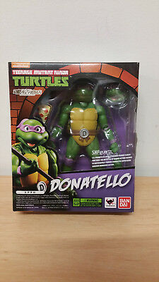 Teenage Mutant Ninja Turtles Donatello S.H. FIGUARTS BANDAI ACTION FIGURE BNISB