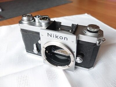 Nikon F Body Chrome Nippon Kogaku 1961/62
