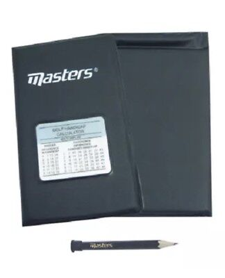 Masters Deluxe Score Golf Card Holder