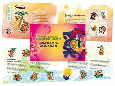 Christmas Island 2017 - Year of the Rooster - Prestige booklet MiNr. 855-868