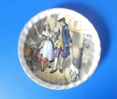 'Cries of London' fluted pin dish - 'Lavender' - Royal Wessex by Swinnertons