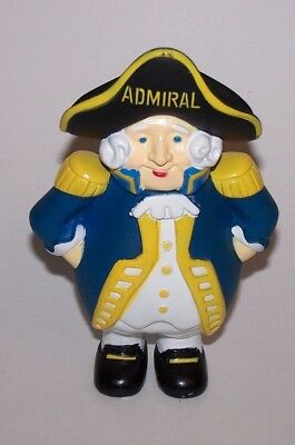 Admiral Vinyl Figure Advertisement Coin Savings Piggy Bank
