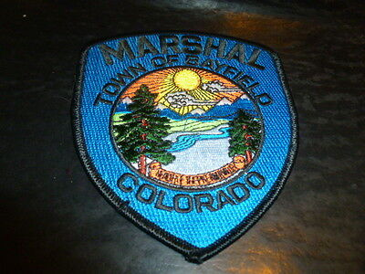 Town Of Bayfield Colorado Police Patch Marshall Careful Quick Shipping
