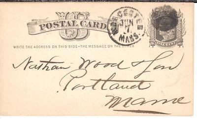 """""""Murder and Suicide""""; Nathan Wood & Son; Portland, ME; 1877; (2) UX5"""