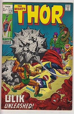"Thor 173 - ""Ulik Unleashed!"". Circus of Crime appearance from February 1970"