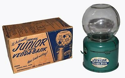 Boxed Junior Venda-Bank Gumball bank by United Metal - WORLDWIDE SHIPPING
