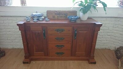 Gorgeous Solid Mahogany Sideboard - stunning and practical.