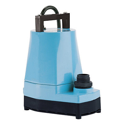 Little Giant 5 MSP 1/6 HP 1200 GPH Submersible or Inline Utility Pump   505005