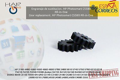 ENGRANAJE RECAMBIO HP C5280 * GEAR REPLACEMENT HP Photosmart C5280 All-in-One