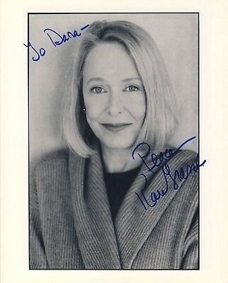 GRASSLE, KAREN  Little House on The Prairie 8x10 hand-signed autographed photo