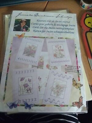 Package cards for the incire cutting template  new 22x15 cm Janneke Brinkman