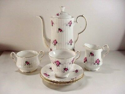 Princess House Exclusive Hammersley / Spode, England Windsor Rose Coffee Pot Set