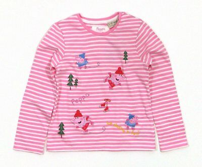 NEXT - 80 - Zuckersüßes Winter Langarmshirt Peppa Pig -- NEU