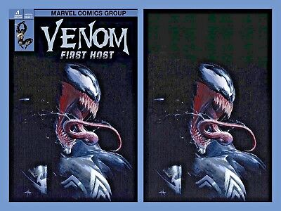 Venom First Host #1 Dellotto Virgin Variant Rare Set Vf/nm 1St Appear Tel-Kar