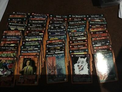 Rage CCG wyrm. Almost complete set 134 diff cards