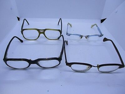 4 Pairs Vtg Eyeglasses Reading Glasses Luxottica Sonny Etc
