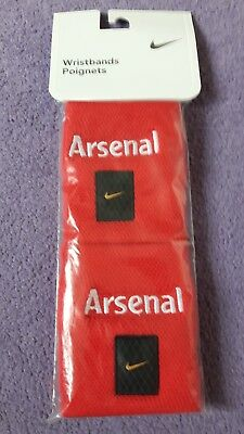 Arsenal Wristbands in Excellent New Condition