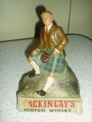 Vintage Mackinlay's Scotch Whisky Advertising Figure